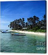Derawan Island Canvas Print