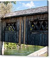 deShutes River Bridge Canvas Print