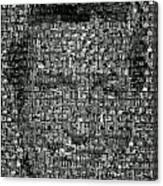 Dick Van Dyke Mosaic Canvas Print