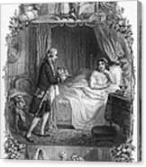 Dining, 19th Century Canvas Print