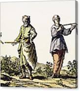 Divining Rod, 17th Century Canvas Print