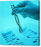 Dna Research Canvas Print