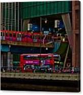 Docklands London Canvas Print