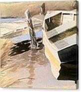Docs Old Rowboat Canvas Print