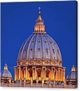 Dome San Pietro Canvas Print