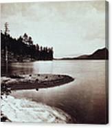 Donner Lake - California - C 1865 Canvas Print