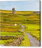 Doonagore Castle Canvas Print