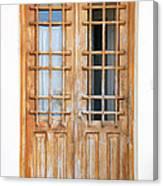Doors In Greece Canvas Print