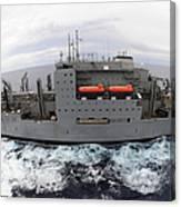 Dry Cargo And Ammunition Ship Usns Canvas Print