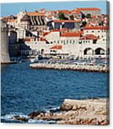 Dubrovnik Old City Architecture Canvas Print