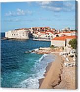 Dubrovnik Scenery Canvas Print