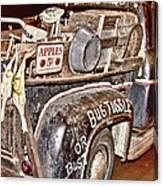 Eddie Bauer Bug Tussle Pick Up Canvas Print