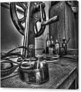 Editing Room 1 Canvas Print