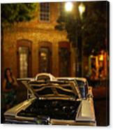 Edsel On Display Canvas Print