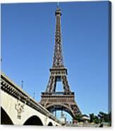 Eiffel Tower In Paris Canvas Print