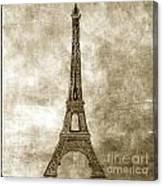 Eiffel Tower. Paris Canvas Print