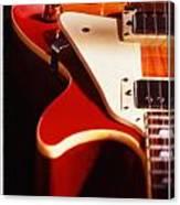 Electric Guitar I Canvas Print
