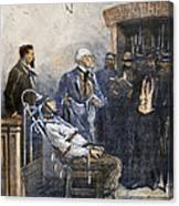 Electrocution, 1890 Canvas Print