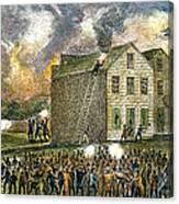 Elijah Parish Lovejoy Canvas Print