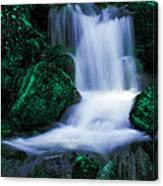 Emerald Falls Canvas Print