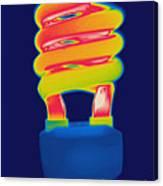 Energy Efficient Fluorescent Light Canvas Print