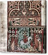 Entry Into Jerusalem Canvas Print