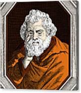 Euclid, Ancient Greek Mathematician Canvas Print