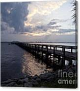 Evening On The Indian River Lagoon Canvas Print