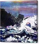 Evening Wave Canvas Print