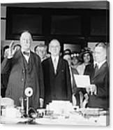 Ex-president William Howard Taft Canvas Print