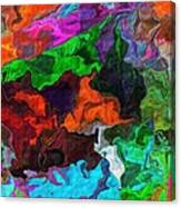 Experiment In Dementia Canvas Print