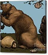 Extinct Fauna Canvas Print