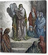 Ezra Canvas Print