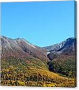 Fall Mountains Canvas Print