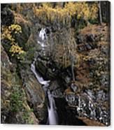 Falls Of Bruar Scotland Canvas Print