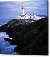 Fanad Lighthouse, Fanad Head, Co Canvas Print