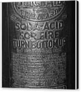 Fire Extinguisher Canvas Print