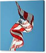 Flagged Canvas Print