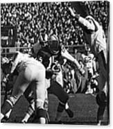 Football Game, 1965 Canvas Print