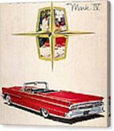 Ford Avertisement, 1959 Canvas Print