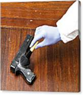 Forensic Evidence Canvas Print