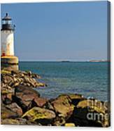 Fort Pickering Light Canvas Print