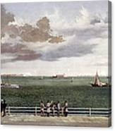 Fort Sumter, 1861 Canvas Print