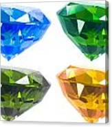 Four Diamond Canvas Print