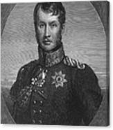 Frederick William IIi Canvas Print