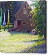 Ty Hodanish Gallery At Prallsville Mill Canvas Print