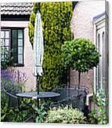 Garden Furniture Canvas Print