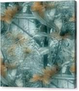 Garden Reverie Three Canvas Print