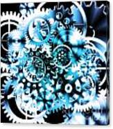 Gears Wheels Design  Canvas Print