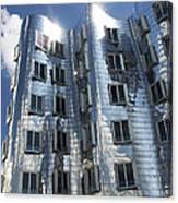 Gehry's Der Neue Zollhof Buildings Canvas Print